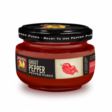 Ghost Pepper Puree, 4oz Louisiana Pepper Exchange